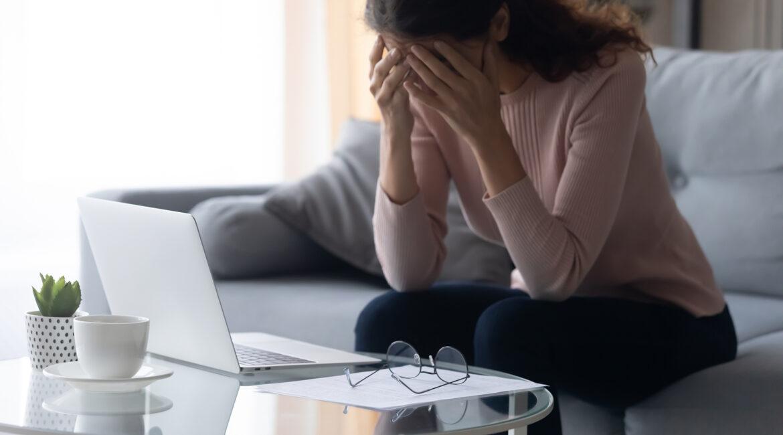 სტრესი, დაღლილი ქალი